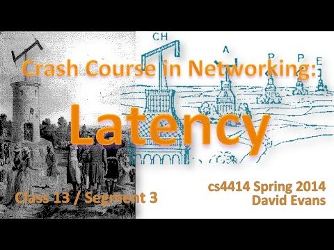 Crash Course in Networking: Latency