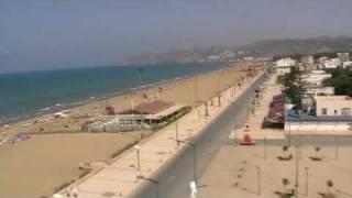 Vue sur la plage de Saidia [Maroc]
