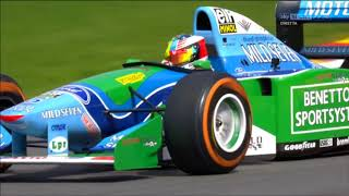 Mick Schumacher Spa 2017 Benetton B194
