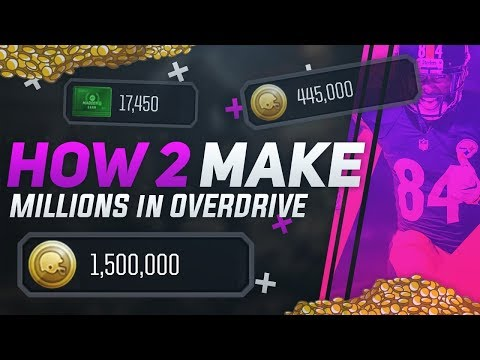 ULTIMATE COIN GUIDE for MADDEN OVERDRIVE! MAKING MILLIONS! (Vol. 1)