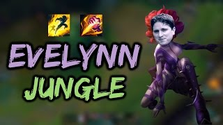 EVELYNN JUNG KOMİK MONTAJ ! |LoL| A'dan Z'ye Jungle #25