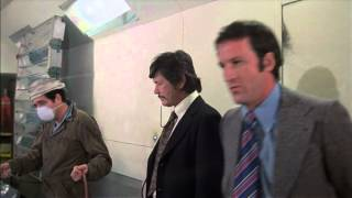 Daniel J. Travanti as Johnny Parisi with Charles Bronson in St. Ives 1976