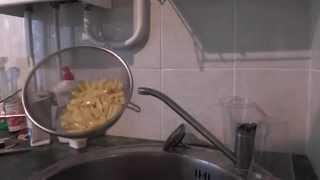 Варённые МАКАРОНЫ.Варим Парим!Заливка холодной водой.На кухне