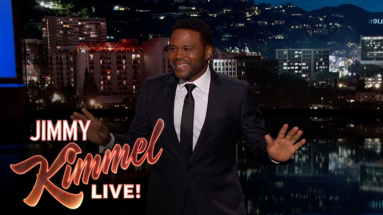 Anthony Anderson's Guest Host Monologue on Jimmy Kimmel Live - With Jimmy out on paternity leave, his pal Anthony Anderson stepped in to host the show for a night.