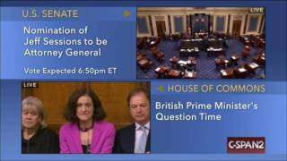 LIVE: Vote for Nomination of Jeff Sessions for Attorney General CSPAN