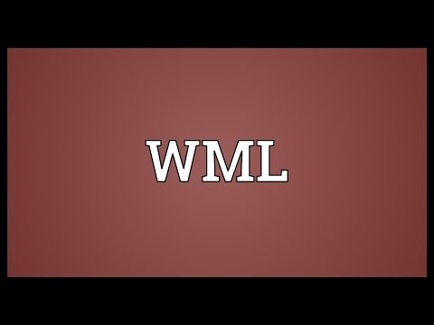 WML Meaning