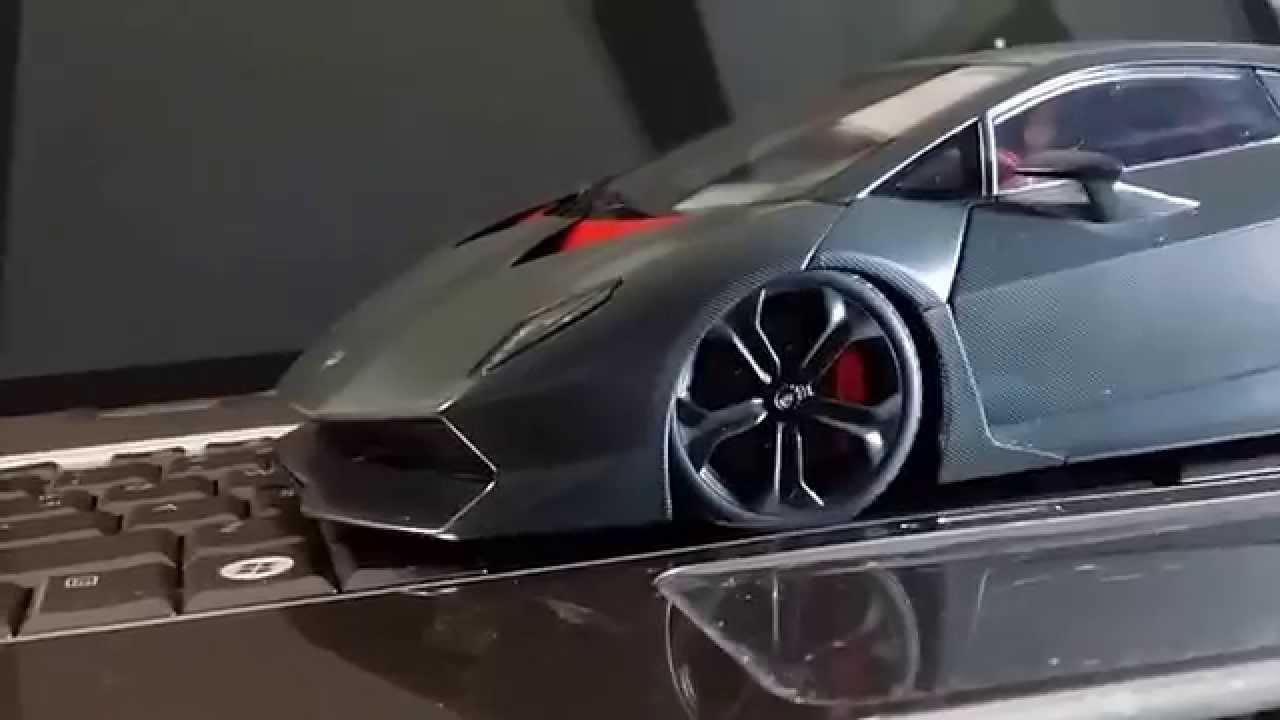 Autoart Sesto Elemento 1 18 Ride Height Mod Youtube