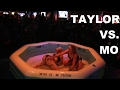 Playful Spanking Between Rounds! | Taylor Vs. Mo | Oil Wrestling | Season 2 | Night 5