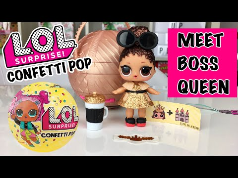 LOL Surprise Series 3 Doll BOSS QUEEN With Bottle