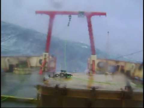 """Campañas del Buque Oceanográfico """"Puerto Deseado"""""""