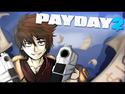 Payday 2 The Heist - W/ Blitzwinger & Athix - Game 1 (HD) |
