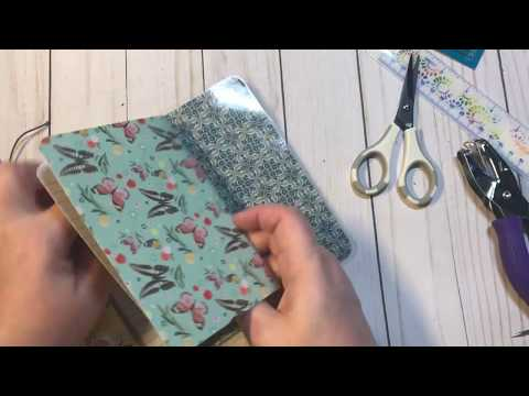Travelers Notebook Tutorial (cover, binding and notebooks)