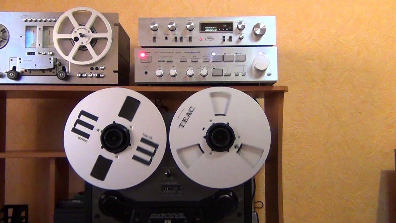 Akai GX-77. Катушечный магнитофон - YouTube
