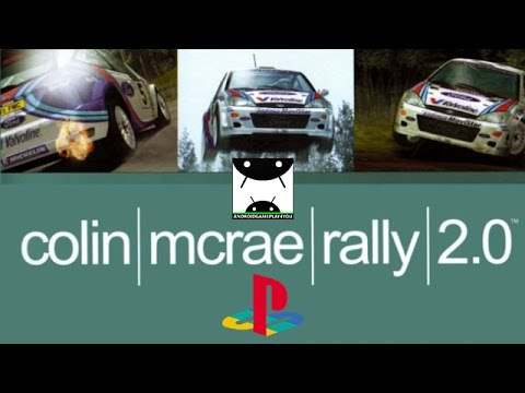 colin mcrae rally 2 0  epsxe emulator  android gameplay