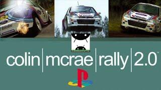 Colin McRae Rally 2.0 (ePSXe emulator) Android GamePlay