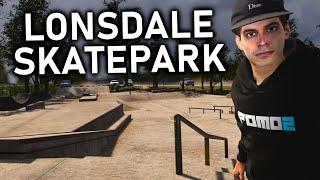Super Tech Lines At Lonsdale Skatepark Skater XL