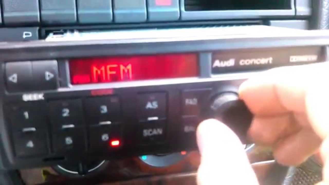 магнитола audi chorus нерегулируется громкость