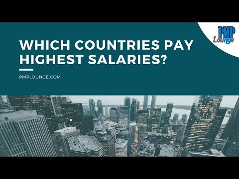 Top 10 Countries That Pay The Highest For Project Management Jobs