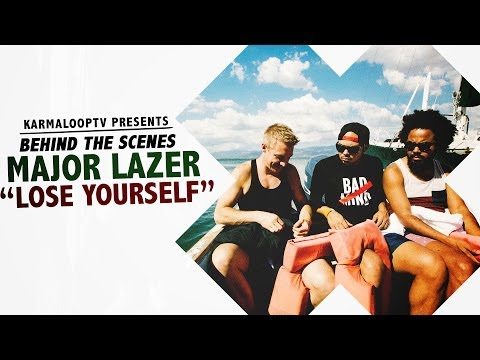 Major Lazer feat RDX & Moska - Lose Yourself [Behind The Scenes]