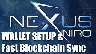 Nexus NXS - Wallet Install & Address Setup