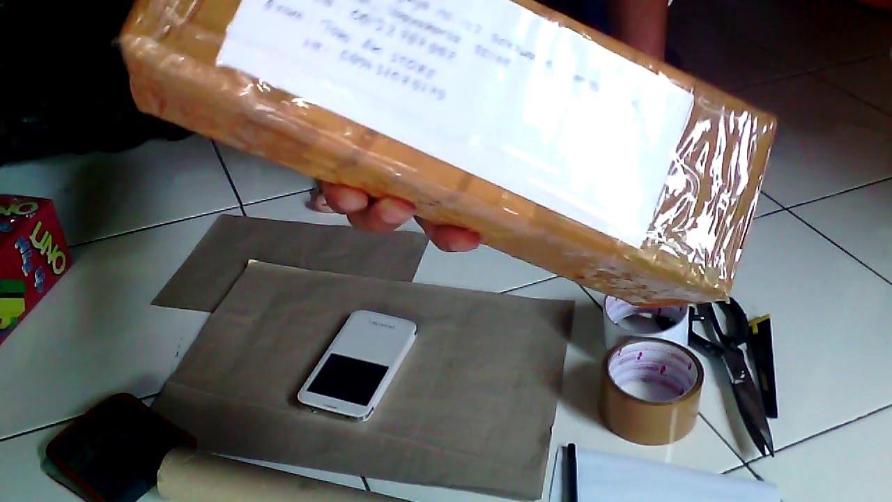 Cara Packing Barang Yang Benar Standard JNE, POS INDONESIA