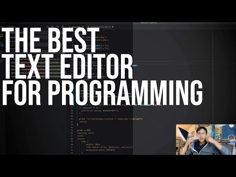 Best text editor for programming in 2020.   TechLead