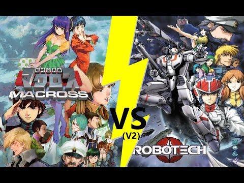 Macross VS Robotech (V2): Tout savoir sur les différences entre Macross et Robotech