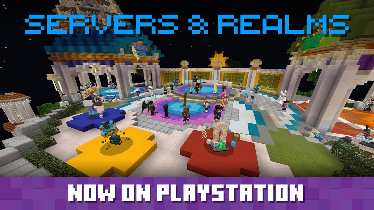 Minecraft Servers and Realms coming to PlayStation!