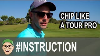 CHIP LIKE A TOUR PRO STRIKE AND LAND IT