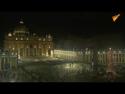 LIVE: Pope Francis Holds Christmas Eve Mass At Saint Peter's Basilica In Vatican