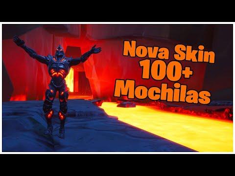 MOSTRANDO A *NOVA* SKIN SECRETA RUÍNA & 100+ MOCHILAS | FORTNITE