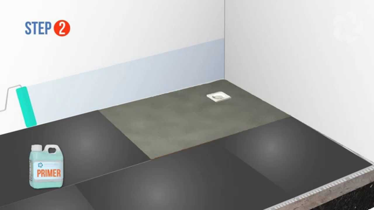 Tanking a wetroom base on a concrete floor wetrooms online youtube tanking a wetroom base on a concrete floor wetrooms online dailygadgetfo Image collections