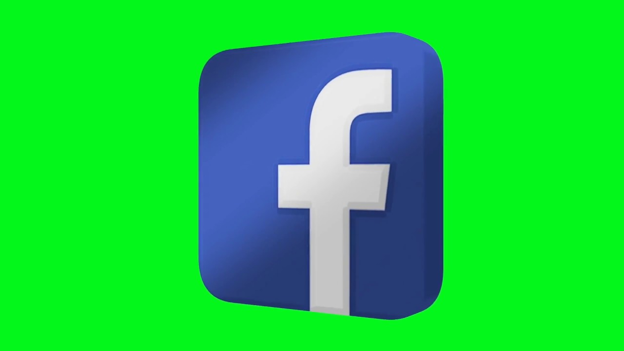 FREE HD Green Screen 3D SPINNING LOGOS  YouTube, Instagram, Facebook    Twitter 9bc09c4476