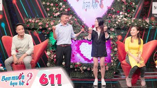 Wanna Date   Ep 611: Young girl's outrageous dance on stage made Hong van sulk