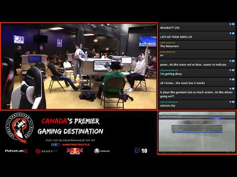 Dissidia NT Tournament #1 RR   The Returners VS Fong+Sion+Gwai Lo