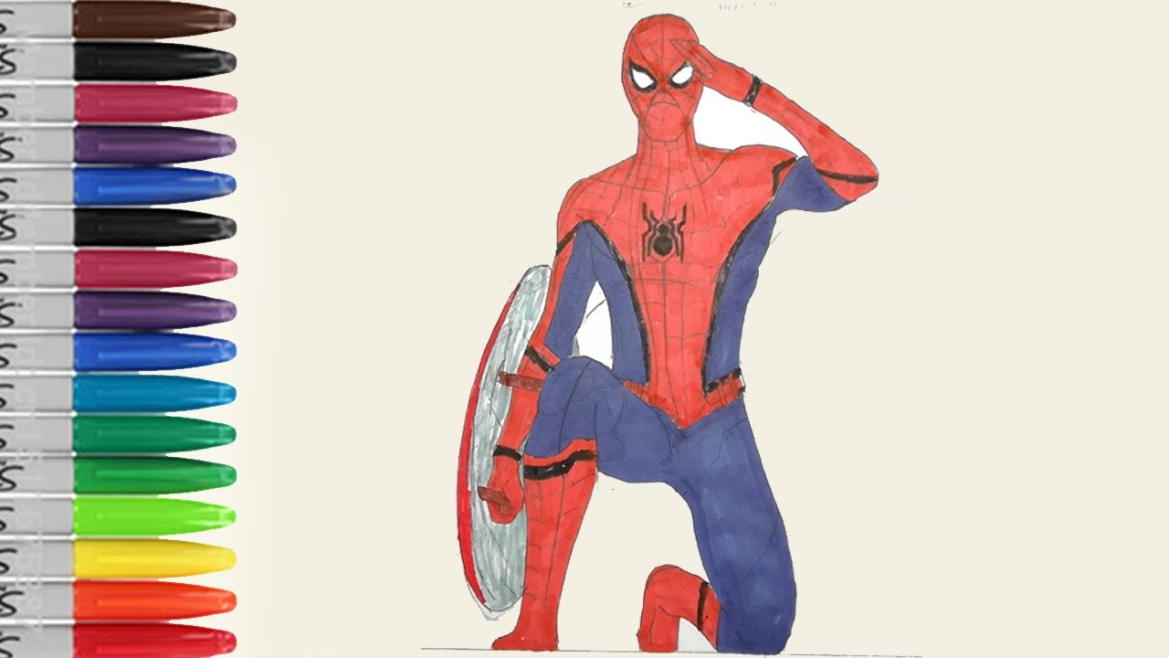 The SPIDERMAN HOMECOMING Steals CAPTAIN AMERICA Shield