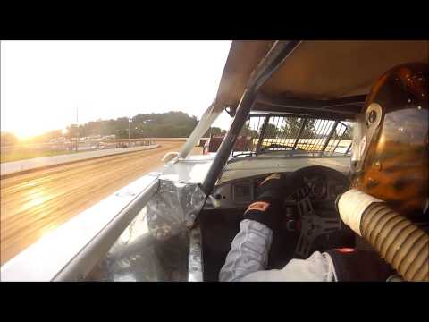 5w Waylon Wagner 8-10-13 Port Royal Speedway hot laps & heat race