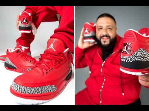 pretty nice 06851 e1b2b DJ KHALED AIR JORDAN 3