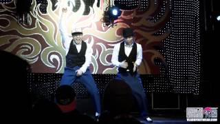 Locking Kahn & Moon Performance AT Showdown L.A. 4 x K.O.D U.S.A