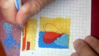Урок №2. Бисерная мозаика на ребро
