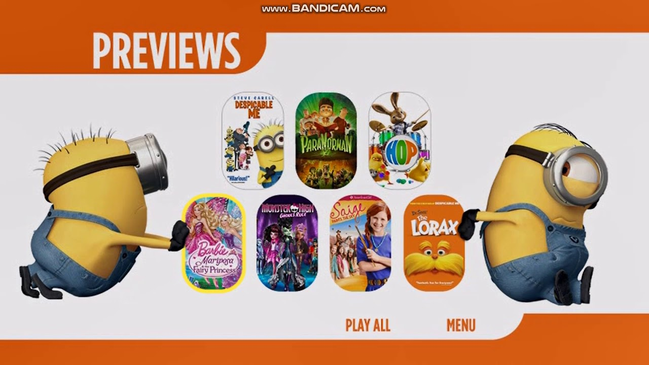 Download Previews From Despicable Me 2 2013 DVD