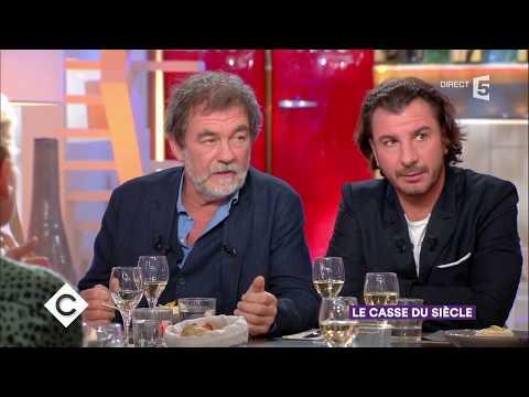 Olivier Marchal et Michaël Youn au dîner  C à Vous  25102017