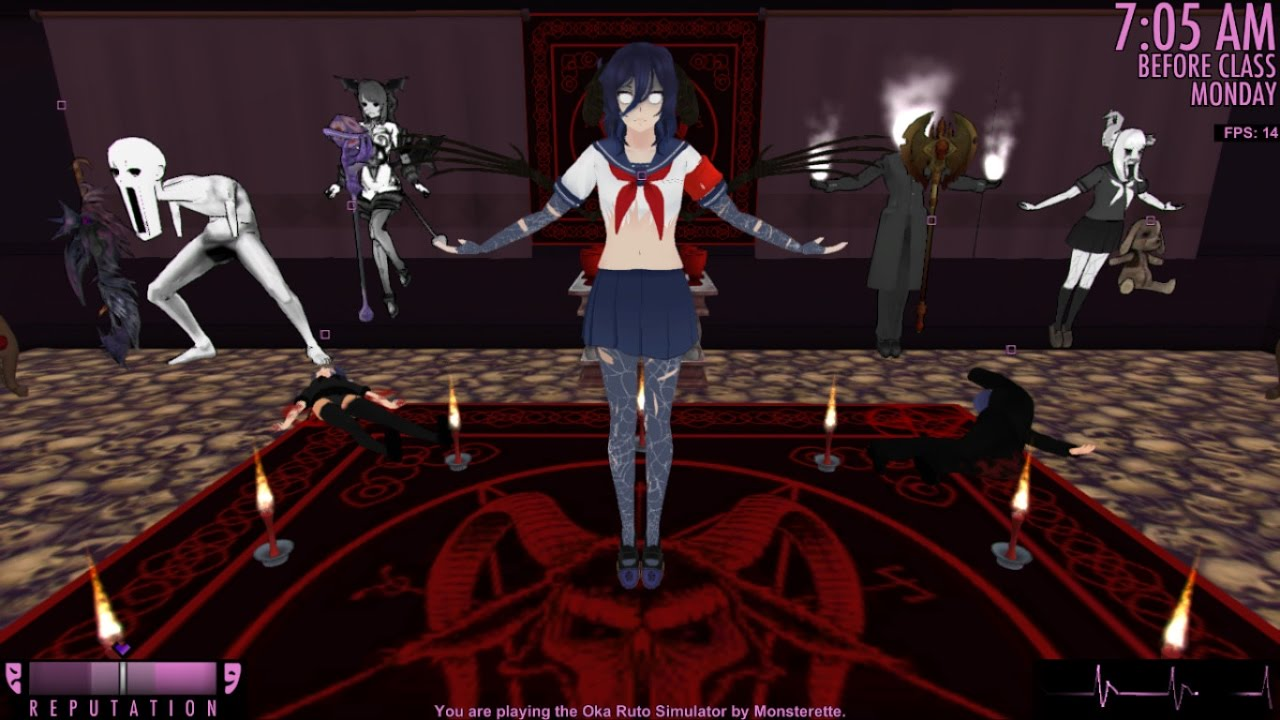 Yandere Clicker Game  Play online at Y8com