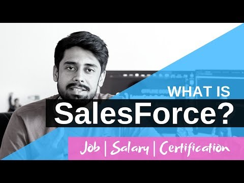 What Is Salesforce? Job | Salary | Certification(Hindi)