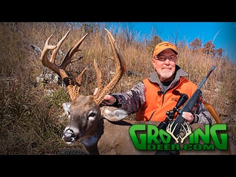 Deer Hunting: 19 Point Buck!  What a Story!  (#366) @GrowingDeer.tv