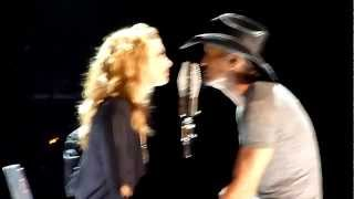I Need You - Tim McGraw & Faith Hill - Sydney - 27th March 2012 - Allphones Arena