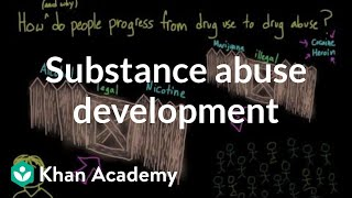 How does substance use develop into substance abuse