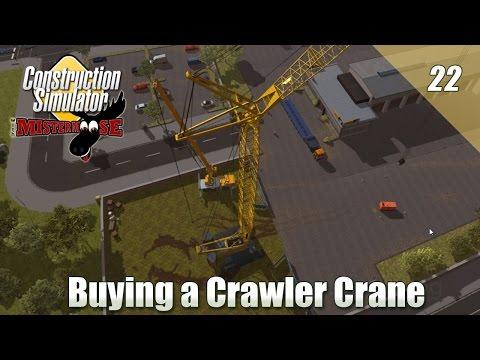 Construction Simulator 2015 - Buying a Crawler Crane