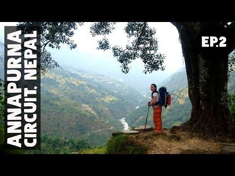 FINALLY ON THE TRAIL // Annapurna Circuit Trek EP2