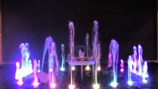 M.H. AlMahroos and Oase:Living Water musical and dancing fountains - BIGS 2010 2